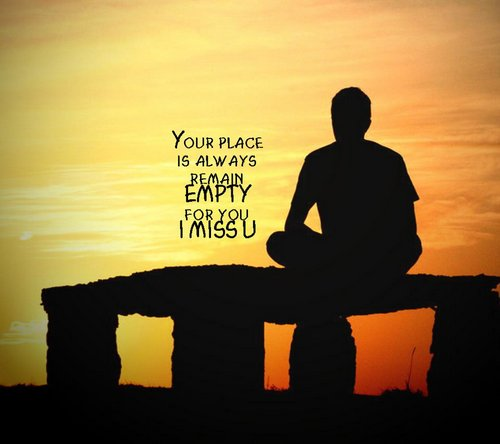 your-place-empty